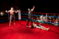 Sport Photograph of MMA Knockout