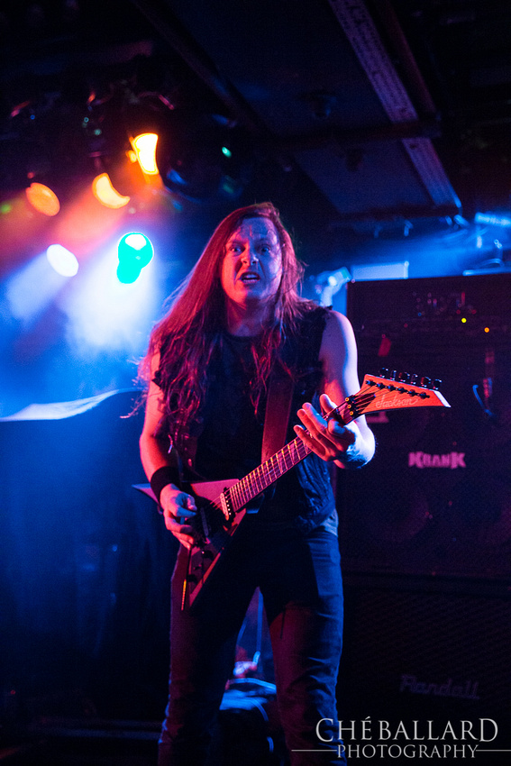 Huntress live at Norwich Waterfront